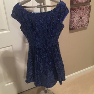 Mini sequin party dress